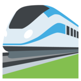 High-Speed Train on JoyPixels 2.1