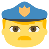 Police Officer on JoyPixels 2.1