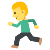 Person Running on JoyPixels 2.1