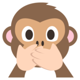 Speak-No-Evil Monkey on EmojiOne 2.1