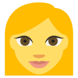 Woman on EmojiOne 2.1