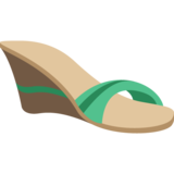 Woman's Sandal on JoyPixels 2.1