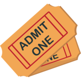 Admission Tickets on JoyPixels 1.0