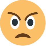 Angry Face on JoyPixels 1.0