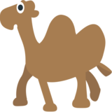 Two-Hump Camel on JoyPixels 1.0