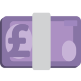 Pound Banknote on JoyPixels 1.0