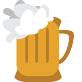 Beer Mug on JoyPixels 1.0