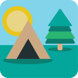 Camping on JoyPixels 1.0