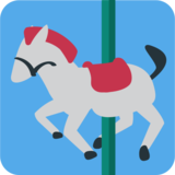 Carousel Horse on JoyPixels 1.0