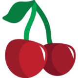 Cherries on JoyPixels 1.0