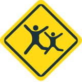 Children Crossing on JoyPixels 1.0