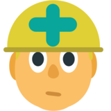 Construction Worker on JoyPixels 1.0