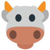 Cow Face on JoyPixels 1.0