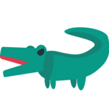 Crocodile on JoyPixels 1.0