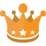 Crown on JoyPixels 1.0