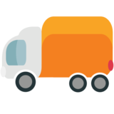 Delivery Truck on EmojiOne 1.0