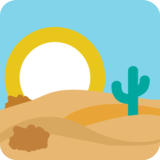 Desert on JoyPixels 1.0