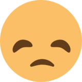 Disappointed Face on EmojiOne 1.0