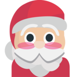 Santa Claus on JoyPixels 1.0