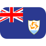 Flag: Anguilla on JoyPixels 1.0