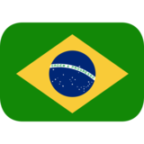 Flag: Brazil on JoyPixels 1.0