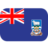 Flag: Falkland Islands on JoyPixels 1.0
