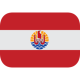 Flag: French Polynesia on JoyPixels 1.0