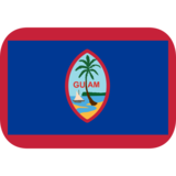 Flag: Guam on JoyPixels 1.0