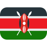 Flag: Kenya on EmojiOne 1.0
