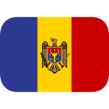 Flag: Moldova on JoyPixels 1.0