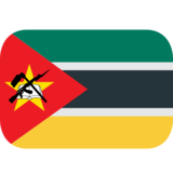 Flag: Mozambique on JoyPixels 1.0