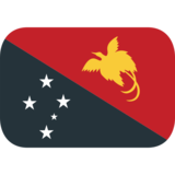 Flag: Papua New Guinea on JoyPixels 1.0