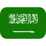 Flag: Saudi Arabia on JoyPixels 1.0