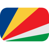 Flag: Seychelles on JoyPixels 1.0