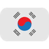 Flag: South Korea on JoyPixels 1.0