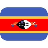 Flag: Swaziland on JoyPixels 1.0