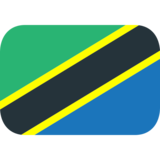 Flag: Tanzania on JoyPixels 1.0