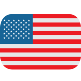 Flag: United States on JoyPixels 1.0