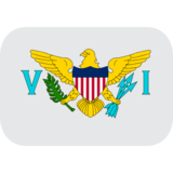 Flag: U.S. Virgin Islands on JoyPixels 1.0