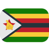 Flag: Zimbabwe on JoyPixels 1.0