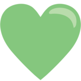 Green Heart on JoyPixels 1.0