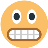 Grimacing Face on JoyPixels 1.0