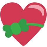 Heart With Ribbon on JoyPixels 1.0
