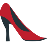 High-Heeled Shoe on JoyPixels 1.0