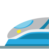 High-Speed Train on JoyPixels 1.0