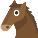 Horse Face on JoyPixels 1.0