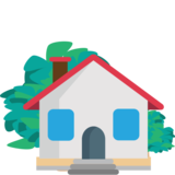 House with Garden on JoyPixels 1.0