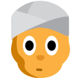 Person Wearing Turban on JoyPixels 1.0