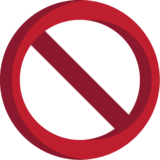 Prohibited on EmojiOne 1.0