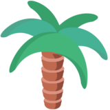 Palm Tree on EmojiOne 1.0